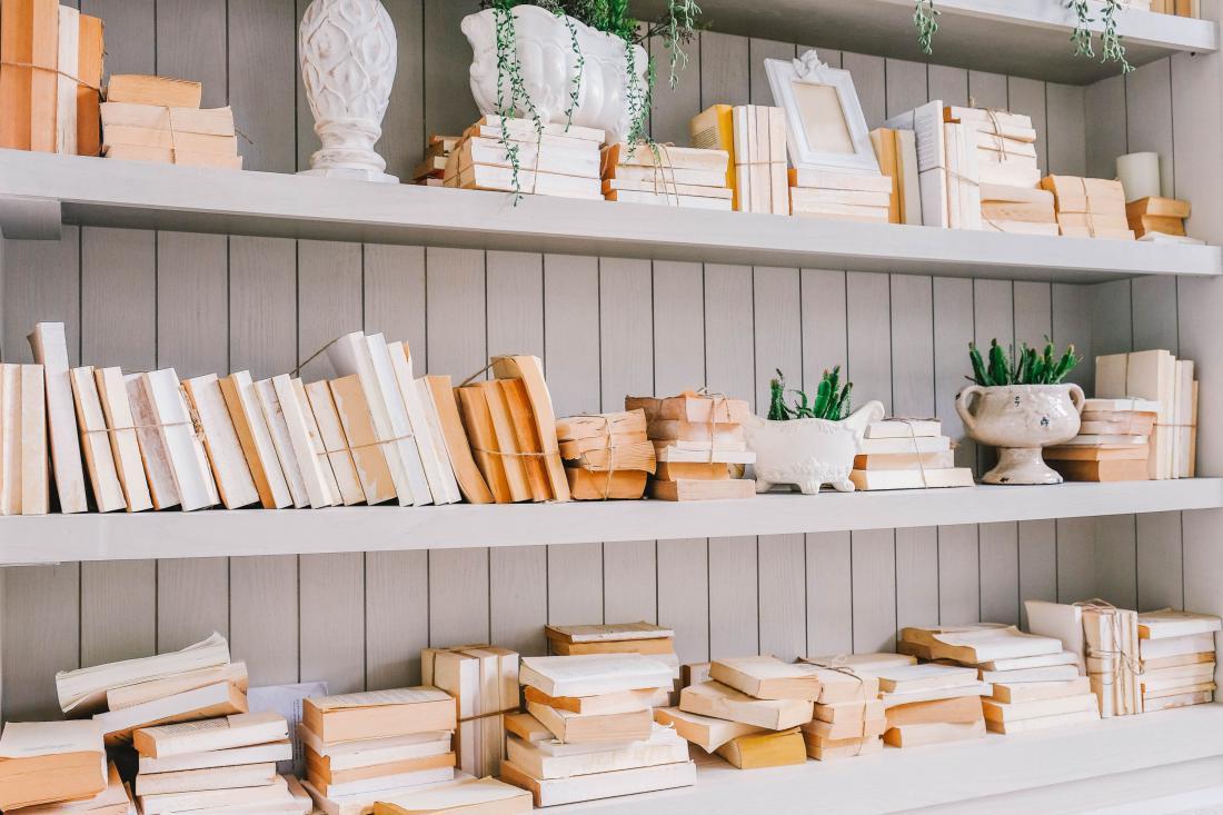 Ko so stare knjige videti kot umetnina. Foto: Shutterstock