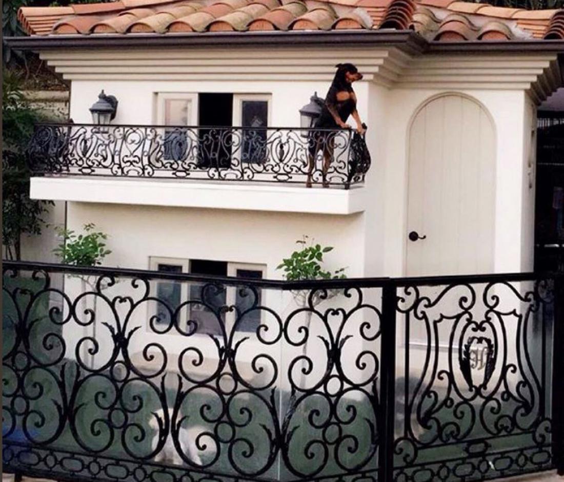 Dvonadstropni dvorec za pse Paris Hilton. Foto: Paris Hillton/Twitter