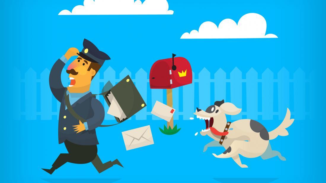 Od leta 2013 je bilo v Veliki Britaniji napadenih več kot 650 poštarjev.  FOTO: Yauhen Paleski/Shutterstock