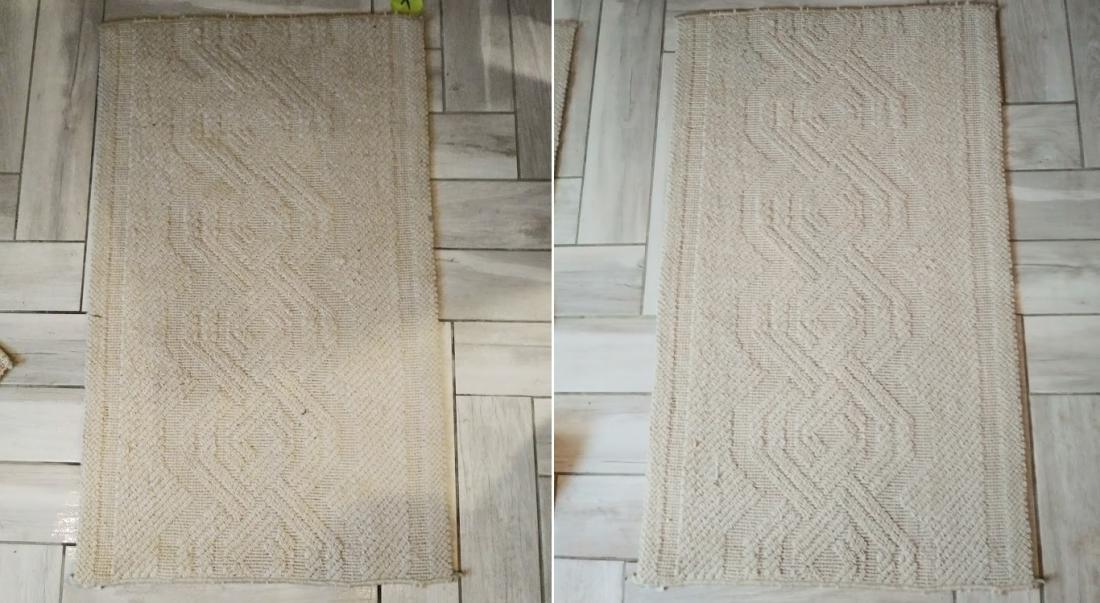 Na levi fotografiji je preproga pred uporabo čistila, na desni pa po uporabi. Razlika je očitna.