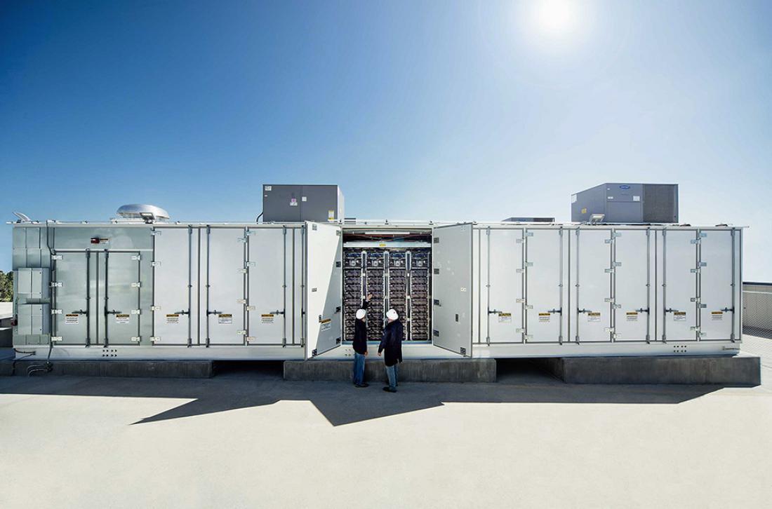 Ključna tehnologija na robu omrežja: Sistemi shranjevanja energije imajo ključno vlogo pri preoblikovanju energetskega sistema.
