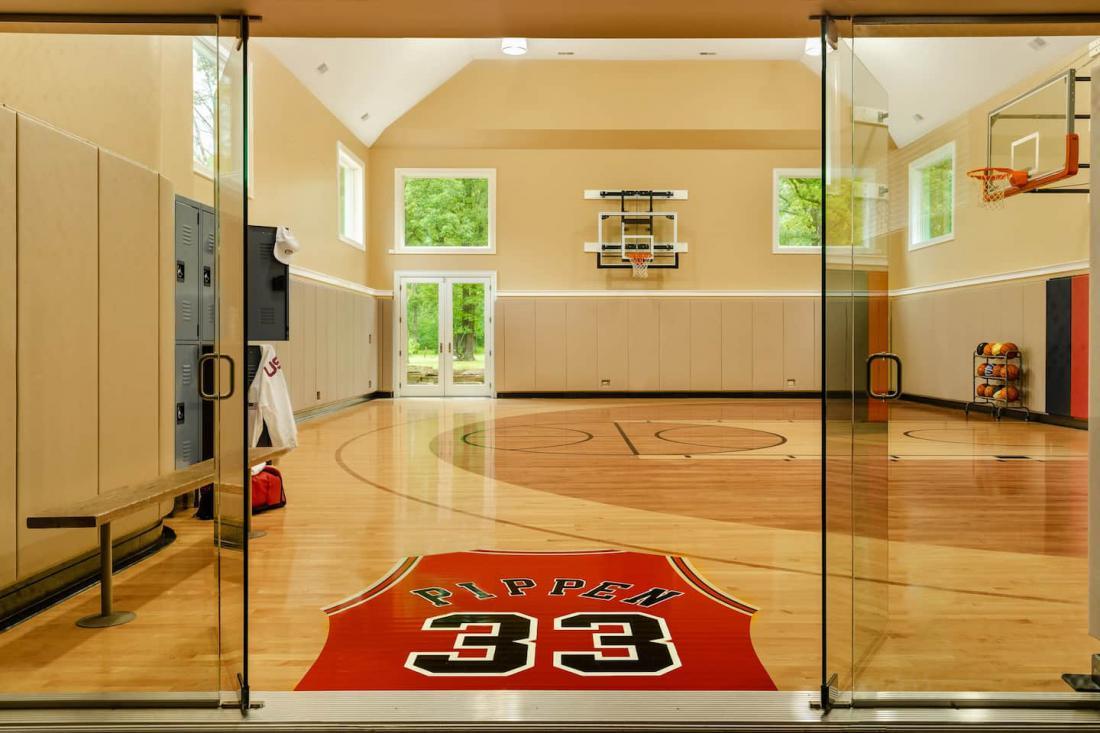 Več fotografij domovanja nekdanjega košarkarskega zvezdnika si lahko ogledate na portalu Airbnb. FOTO: Airbnb