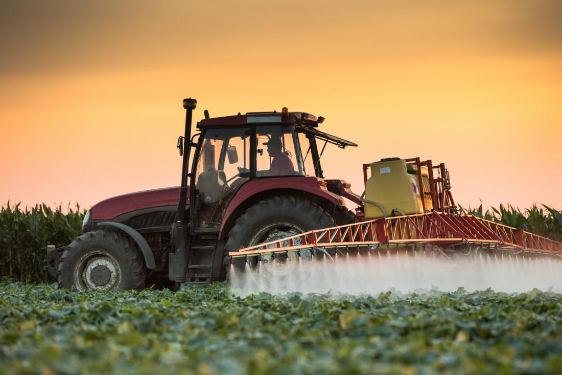 Glifosat je najpogosteje uporabljen herbicid v kmetijstvu, gozdarstvu in vrtnarstvu. FOTO: Shutterstock