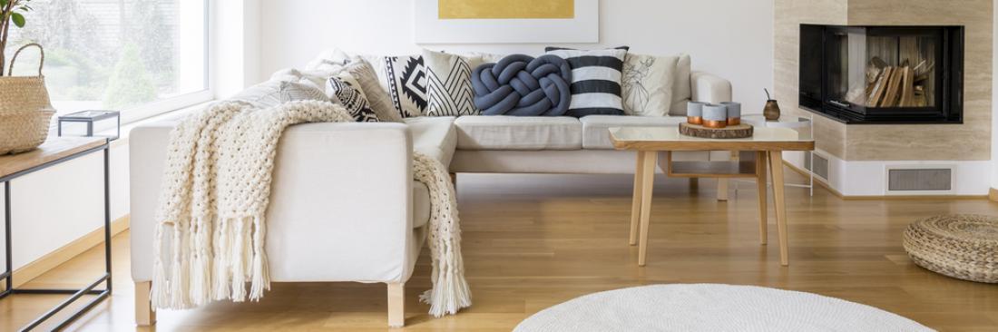 Kavč v slogu hygge. Foto: Shutterstock