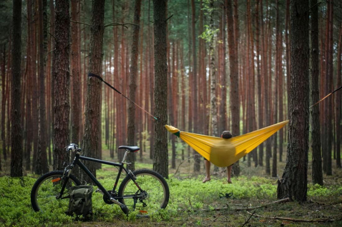 Viseča mreža brez palic je bolj stabilna. Foto: Sunrise Hunter/Shutterstock