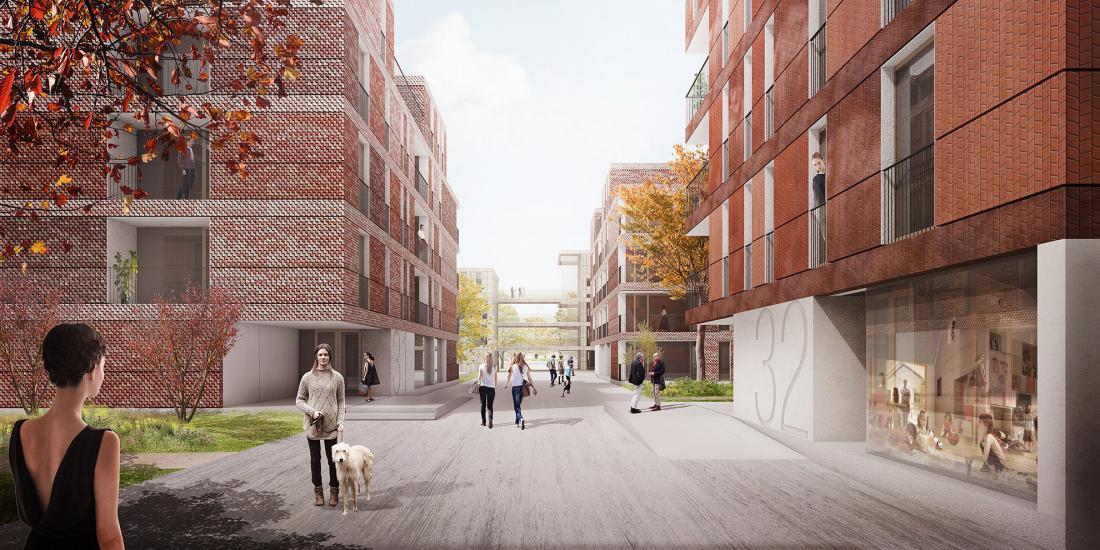 Stanovanjski sklad RS bo v soseski Novo Brdo ponudil višji standard bivanja, saj bodo v njej sobivale različne generacije (mladi, starejši, družine), čemur bodo prilagojeni objekti in stanovanja. FOTO: Stanovanjski sklad RS