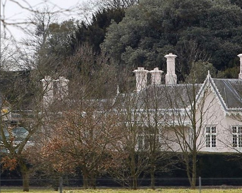 Adelaide Cottage, kjer naj bi živela Harry in Meghan.